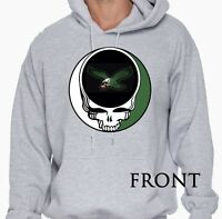 Grateful Dead inspired Philly Eagles (Fly Eagles Fly) parody hoodie.