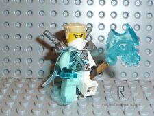 LEGO® Ninjago Figur Zane Titanium aus 70728 Ninjago City mit Waffen Schwert NEU