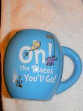 """Dr. Seuss- """"Oh! The Places You'll Go!"""" , ceramic mug by Vandor- Beautiful item"""
