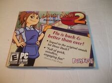 DINER DASH 2: Restaurant Rescue (PC, 2006) New Sealed