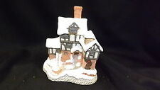 David Winters Cottages Ebeneezer Scrooge's Counting House With Box & Coa