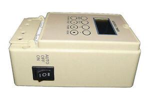 Professionelle Zeitschaltuhr - bis 80x ON / OFF - Digital, Sekunden Schalt Uhr