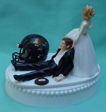 Wedding Cake Topper Jacksonville Jaguars Football Themed Jags Sports Bride Groom