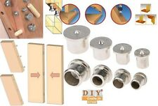 DIY Crafts®Dowel Drill Centre Points Pin Wood Dowel Tenon Center For Drill Holey