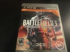 Battlefield 3 Premium Edition(Sony PlayStation 3, 2011) Clean Tested Works Great