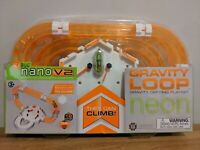 HEXBUG Nano V2 -- Gravity Loop Neon Track Playset - New & Sealed