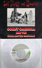 CORKY CARROLL  Tan Punks On Boards  rare promo 45 with Picture Sleeve