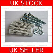 M8 x 70 TV Wall Mounting Fixing Bolt Screw 15mm Washer Plug Kit 4 Pack - 100149