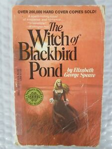 The Witch of Blackbird Pond Elizabeth George Speare 1971 Paperback