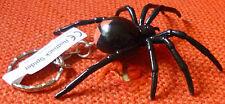 REDBACK AUSTRALIAN SPIDER SOUVENIR GIFT KEYCHAIN KEY RING Size 70mm
