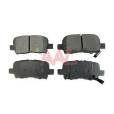 AAL Rear BRAKE PADS For 2002 2003 2004 HONDA ODYSSEY (Complete set 4 pieces)