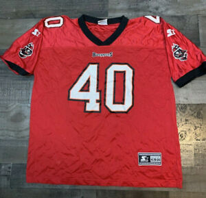 Tampa Bay Buccaneers: #40 Mike Alstott: Starter Brand Jersey: Youth XL (18-20)