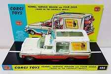 Vintage CORGI 486 KENNEL SERVICE WAGON Diecast Model Car & Custom Display [b]
