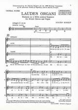Laudes Organi Fantasia on a XIIth century Sequence Kodaly, Zoltan choral score