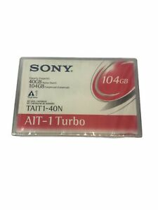 Sony TAIT1-40N Turbo  NATIVE 104GB COMPRESSED   TAPE  DATA  CARTS  DIFFERENT  GB