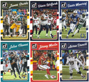 2016 Panini Donruss NFL Football - Base Set Cards - Pick From Card #'s 1-350