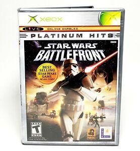 SRAR WARS Battlefront  Microsoft Xbox 360 LIVE PLATINUM 2004 GUC!