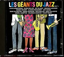 LES GEANTS DU JAZZ VOL.1 - CD COMPILATION [134]