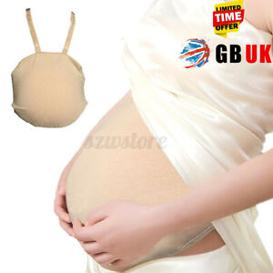 UK Fake Belly Artificial Baby Tummy Belly Pregnancy Pregnant Bump Cloth Bag