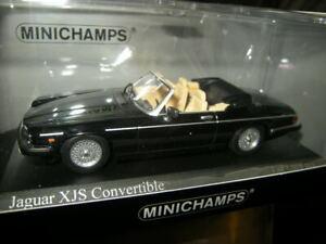 1:43 Minichamps Jaguar XJS Cabrio 1988 black/schwarz in OVP