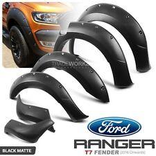 New 6 Pcs Complete Set FORD Ranger T7 PX MK2 Wheel Arch Matte Fender Flare ABS