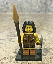 Genuine LEGO Minifigure - Warrior Woman - Complete - Series 10 - col148