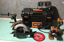 ridgid cordless power tools 18v brushless kit
