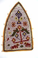 Vintage Rajasthani Heavy Beaded Work Indian Wall Hanging Décorative. i17-349 AU