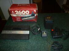 Atari 2600 Rainbow Jr. Console/System w/5 Games + In Original Box, Works!