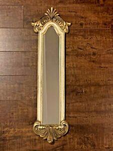 Vintage Italian Florentine style Gold Gilt Rectangular Mirror
