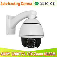 YUNSYE auto-tracking Speed Dome 3.5 inch Mini high Speed Dome 10x ZOOM 1200TVL