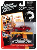 Johnny Lightning 2-Pack James Bond 007 1974 AMC Hornet & 1964 Aston Martin DB5