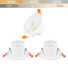 Luces Plafon LED Foco Downlight Empotradas en el Techo LED Orientables 5W