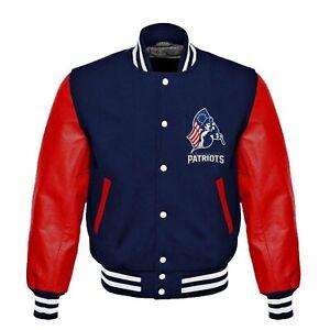 NFL New England Patriots Rare beautiful Varsity jacket   all sizes