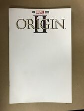 WOLVERINE ORIGIN 2 #1 BLANK VARIANT COVER MARVEL COMICS (2014) 1ST PRINT LOGAN
