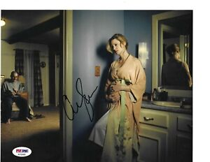 Rare Anna Gunn Breaking Bad Hand Signed Autographed 8x10 Photograph PSA/DNA COA