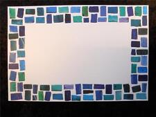 10 Mosaic Frame Blank Invitation Stock 10 White Envs by Faux Designs