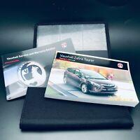 Vauxhall ZAFIRA TOURER handbook Manual + Service book new 2012 To 2016 Inc Vat