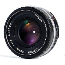 :Nikon Nikkor 50mm f1.8 AI-S Pancake Manual Focus Prime Lens (Read)