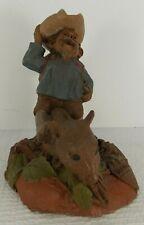 Tom Clark Studio Gnome Figurine Buffalo Bill #85 1985 Vintage