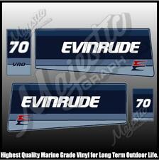 EVINRUDE 70 hp - VRO - OUTBOARD DECALS
