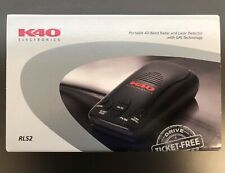 New listing K40 Rls2 Portable Radar and Laser Detector with Gps