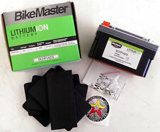 Lightweight Lithium Powersports Battery BikeMaster DLFP14ZS for Motorcycle Apps.