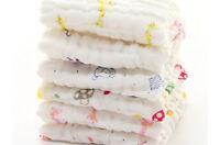 Baby Cotton Gauze Towel Towel Wash Cloth Handkerchiefs Feeding Saliva Towel FO