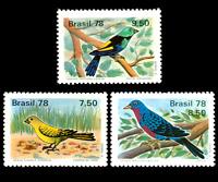 Birds Brazil 1978 Michel 1651, Sn 1557, Yvert 1310, RHM C-1036