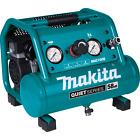 Makita MAC100Q-R Quiet Serie 1/2 HP 1 Gal Comp Oil‑Free Electric Air Compressor