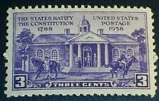 US Scott 835 States Ratify Constitutiuon MNH OG F-VF
