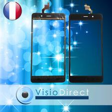 """Vitre ecran tactile pour téléphone mobile Wiko Lenny 4 plus 5.5"""" NOIR"""