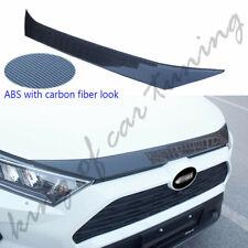 Bonnet protect strip fits for Toyota RAV4 2019 2020 engine hood plate ABS bar
