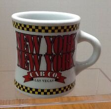 New York New York Coffee Mug Las Vegas Nevada Cup Yellow Taxi Cab Hotel Casino